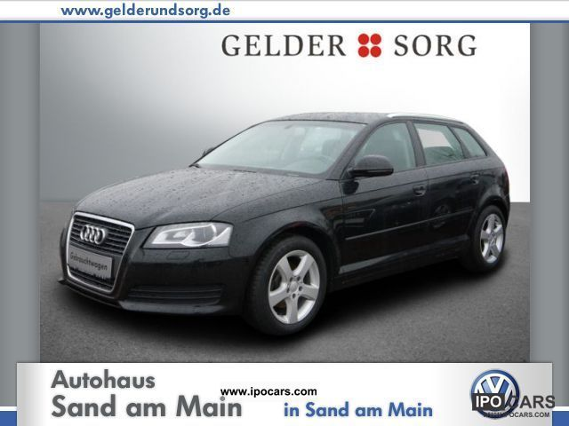 2009 Audi  A3 Sportback 1.9 TDI DPF e Att Attraction Limousine Used vehicle photo