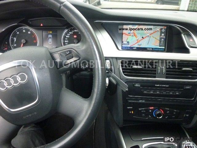 2008 Audi A4 1 8 Tfsi Ambience Sports Navi Mmi Lm Wheels Car Photo And Specs