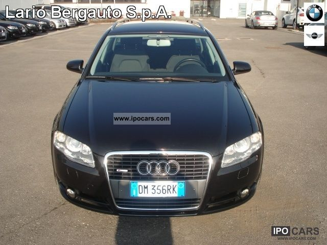 2007 audi a4 tdi 16v 2 0 170cv f ap avant car photo and specs. Black Bedroom Furniture Sets. Home Design Ideas