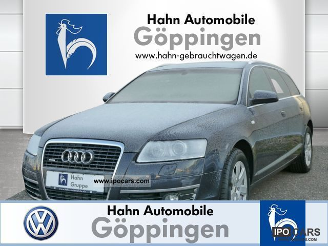 2007 Audi  A6 Avant 3.0TDI qu. Klimaaut Xenon-S Sitzh roof. Estate Car Used vehicle photo