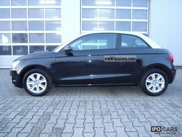 2011 audi a1 1 2 tfsi attraction sport package air car photo and specs. Black Bedroom Furniture Sets. Home Design Ideas