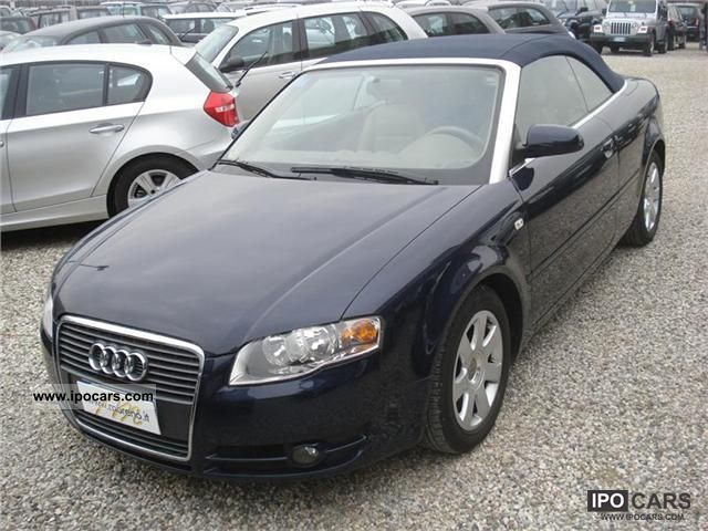 2006 audi a4 1.8t cabriolet