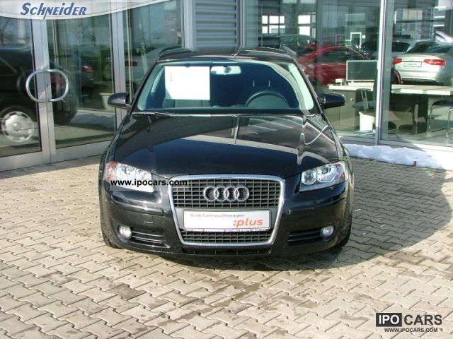 2008 audi a3 1 9 tdi e attraction dpf kwps 77 105 5 speed car photo and specs. Black Bedroom Furniture Sets. Home Design Ideas