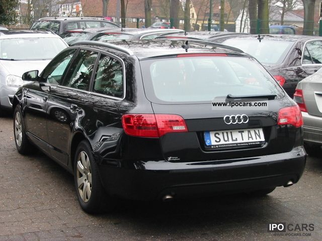 2007 audi a6 avant 3 0 tdi quat tip xenon brown leather car photo and specs. Black Bedroom Furniture Sets. Home Design Ideas