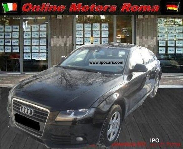 2008 Audi  A4 2.0 TDI 143CV 08 Sedan One Sens.Park diesel Limousine Used vehicle photo