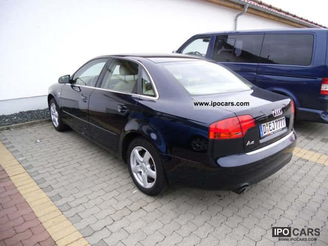 2007 audi a4 2 0 t fsi special edition 25j quattro car photo and specs. Black Bedroom Furniture Sets. Home Design Ideas