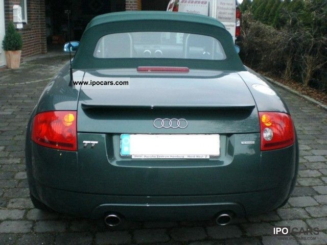 2001 Audi TT Convertible 4x4 - Car Photo and Specs