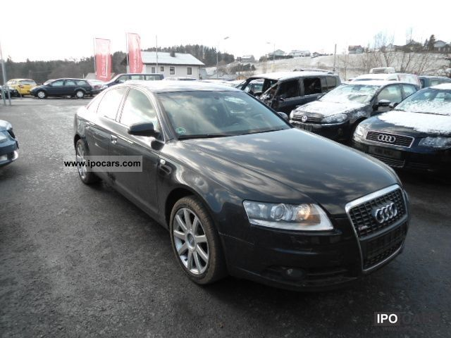 2007 audi a6 s line navi xenon exp12490 car photo and specs. Black Bedroom Furniture Sets. Home Design Ideas