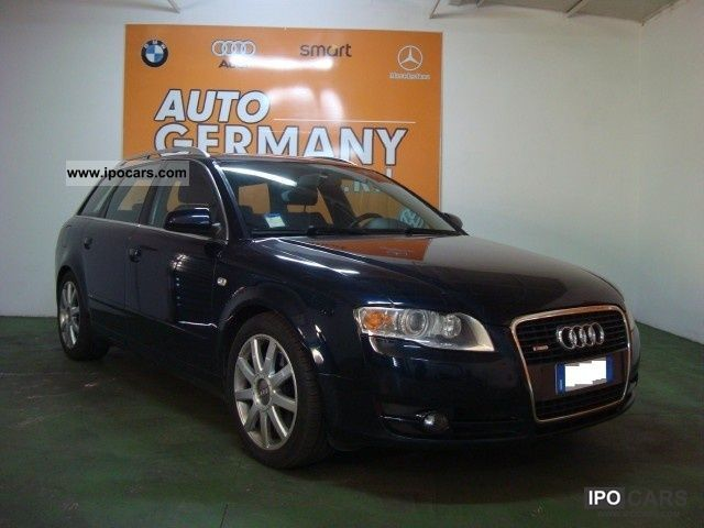 2006 Audi  A4 2.7 V6 TDI F.AP. S-LINE AVANT MULTITRONIC Estate Car Used vehicle photo