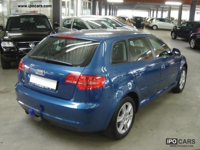 2009 audi a3 sportback 1 6 tdi 77 105 kw ps 5 car photo and specs. Black Bedroom Furniture Sets. Home Design Ideas