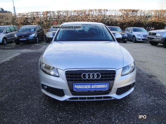 2008 audi a4 saloon 2 0 tdi ambiente car photo and specs. Black Bedroom Furniture Sets. Home Design Ideas