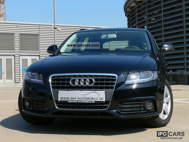 2009 Audi A4 2.0 TDI station wagon / Avant Attraction 8K model - Car ...
