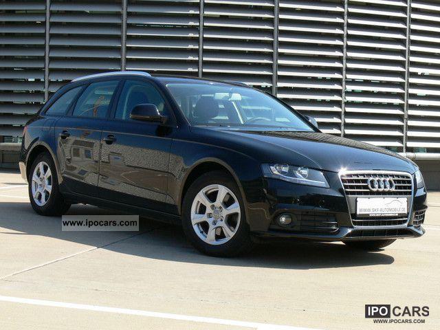 2009 Audi A4 2.0 TDI station wagon / Avant Attraction 8K model - Car