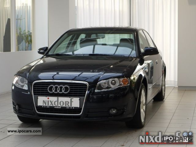 2007 audi a4 2 0 xenon pdc 96 130 kw 2 0 hp 5 speed car photo and specs. Black Bedroom Furniture Sets. Home Design Ideas