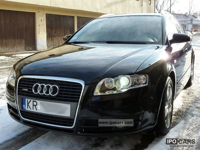 2005 audi a4 avant 2 0 tfsi quattro benzyna car photo. Black Bedroom Furniture Sets. Home Design Ideas