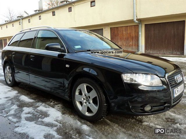2005 audi a4 avant 2 0 tfsi quattro benzyna car photo and specs. Black Bedroom Furniture Sets. Home Design Ideas