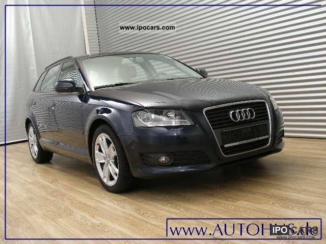 2009 audi a3 sportback 2 0 tdi ambition pdc alu17 car photo and specs. Black Bedroom Furniture Sets. Home Design Ideas