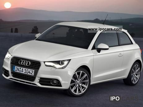 2011 Audi  A1 Best Attraction Limousine New vehicle photo