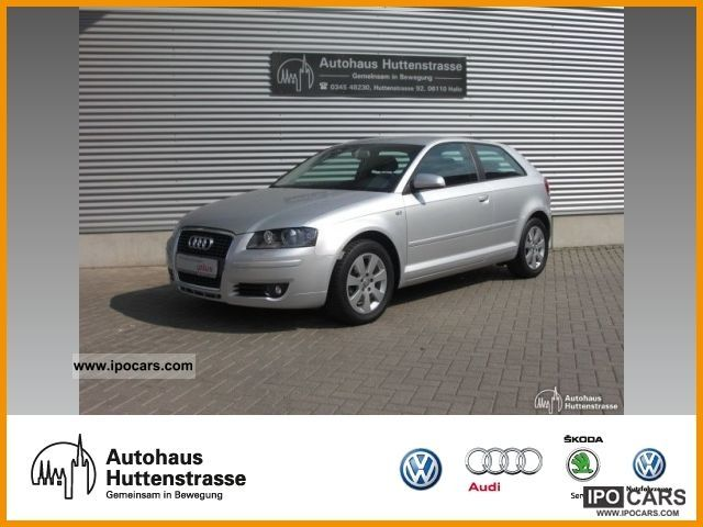 2007 Audi  A3 1.8 TFSI ambience * Xenon * leather and Alcantara * KLI Limousine Used vehicle photo