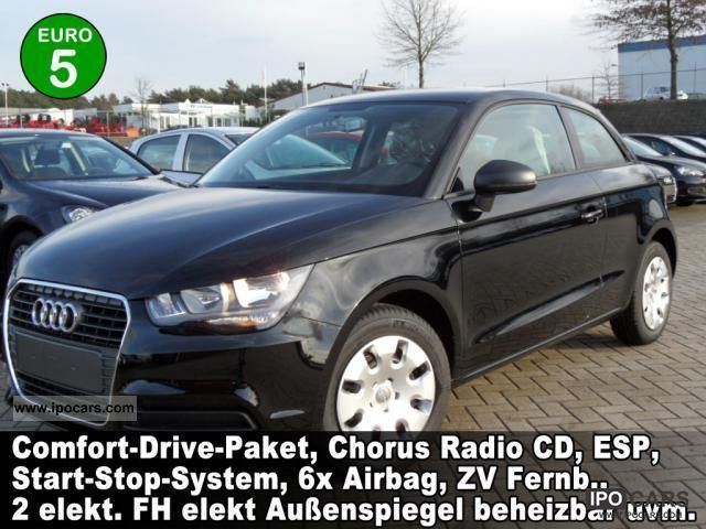 2012 Audi  A1 Attraction 1.2 TFSi Comfort Drive Package Ch .. Small Car Pre-Registration photo
