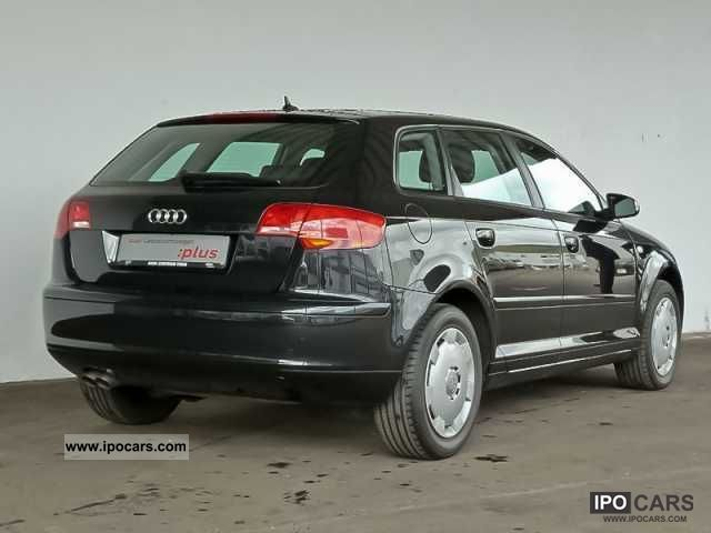 2008 audi a3 sportback 1 9 tdi s tronic back car photo and specs. Black Bedroom Furniture Sets. Home Design Ideas