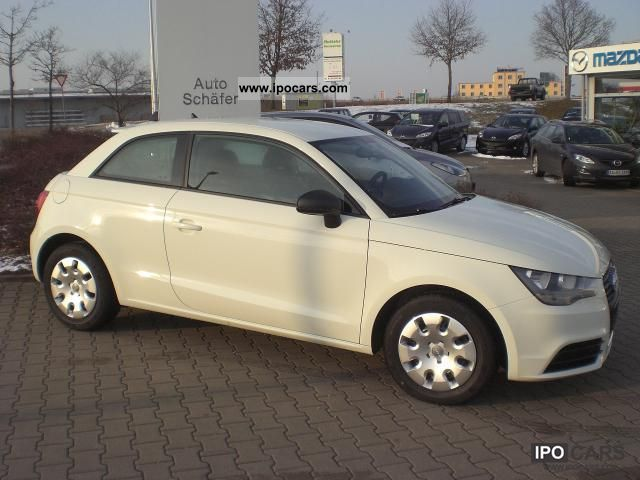 2011 Audi  A1 Attraction 1.2 TFSi 63 kW (86 hp), switch .... Small Car New vehicle photo