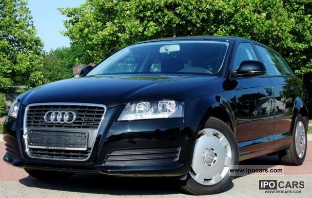 2009 Audi  A3 Sportback 1.6 TDI DPF Attraction 1.Hand Estate Car Used vehicle photo
