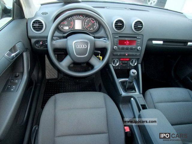 2009 Audi A3 Sportback 16 TDI DPF Attraction 1Hand  Car Photo