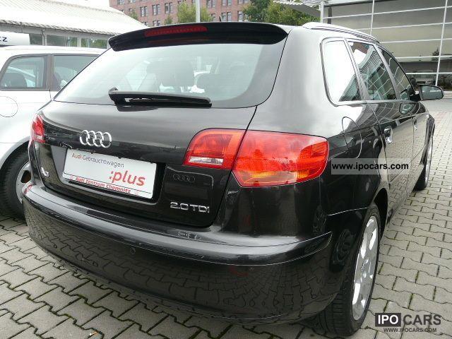 2008 Audi A3 Sportback 2.0 TDI S tronic Open Sky - Car Photo and Specs