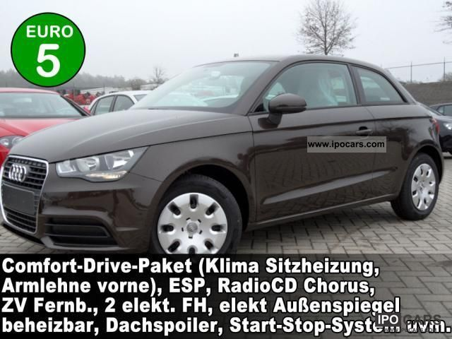 2011 Audi  A1 Attraction 1.2 TFSi Comfort Drive Package Ch .. Small Car Pre-Registration photo