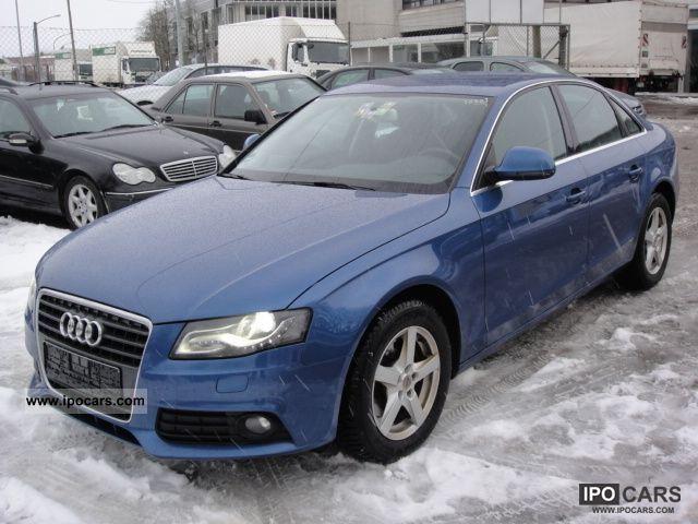 2008 Audi  A4 2.0 TDI .. MMI navigation system .. Xenon .. 1 hand! Limousine Used vehicle photo