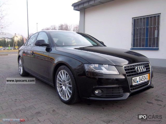 2009 audi a4 2 0 tdi pd ambiente car photo and specs. Black Bedroom Furniture Sets. Home Design Ideas