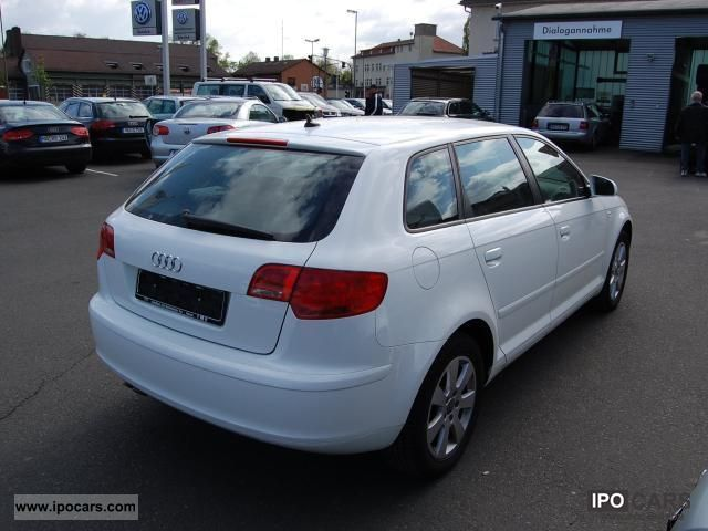 2008 audi a3 sportback 2 0 tdi ambiente navigation car photo and specs. Black Bedroom Furniture Sets. Home Design Ideas