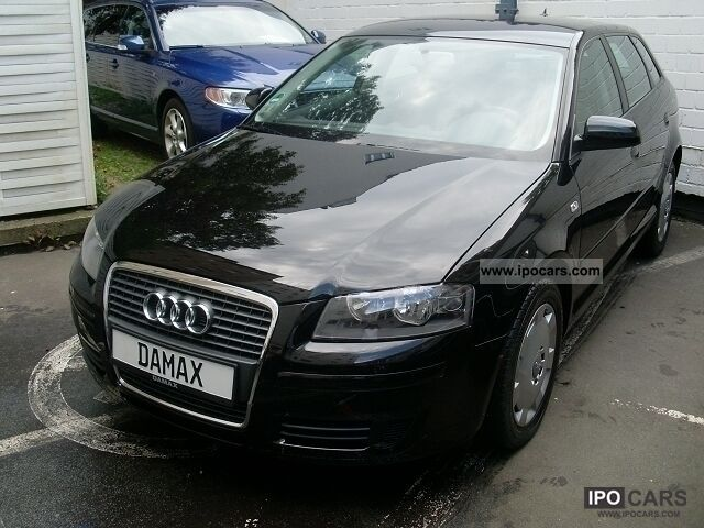 2008 Audi  A3 Sportback 1.9 TDI DPF DSG Estate Car Used vehicle photo