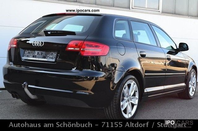 2009 audi a3 1 9 tdi sportback panorama leather xenon navi car photo and specs. Black Bedroom Furniture Sets. Home Design Ideas