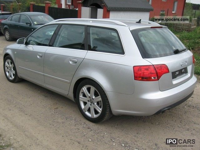 2007 audi a4 avant 1 9 tdi leather navi full service. Black Bedroom Furniture Sets. Home Design Ideas