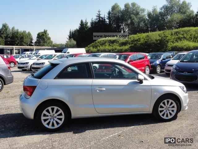 2011 Audi  A1 Air conditioning Alloy wheels bearing Action 1.2 TFSI ... Small Car New vehicle photo