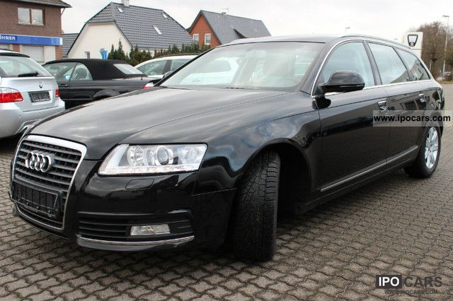 2009 Audi A6 Avant 2.0 TDI DPF 1.Hand E.Z.12.2008 Estate Car Used ...