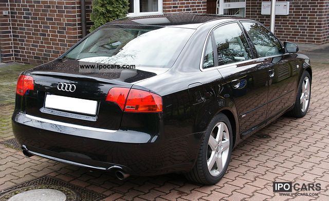 2005 audi a4 3 2 fsi multitronic s line exterior car photo and specs. Black Bedroom Furniture Sets. Home Design Ideas