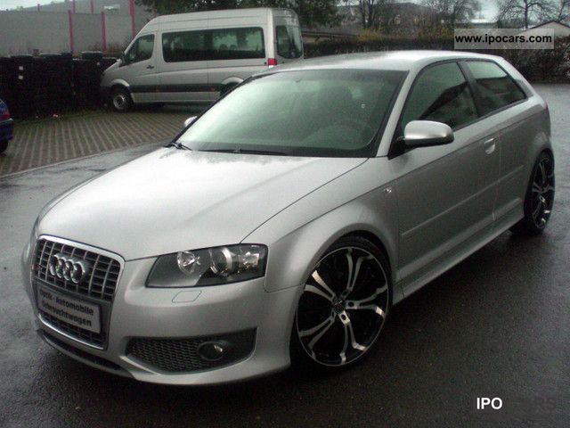 2004 audi a3 2 0 tdi sport package s3 look eye catching 19 inch car photo and specs. Black Bedroom Furniture Sets. Home Design Ideas