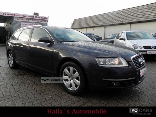 2007 audi a6 avant 3 2 fsi quattro tiptronic exclusive full car photo and specs. Black Bedroom Furniture Sets. Home Design Ideas