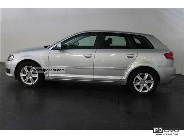 2009 audi a3 sportback 1 8 tfsi attraction 160pk car photo and specs. Black Bedroom Furniture Sets. Home Design Ideas