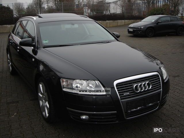 2007 audi a6 3 0 tdi dpf quattro avant car photo and specs. Black Bedroom Furniture Sets. Home Design Ideas