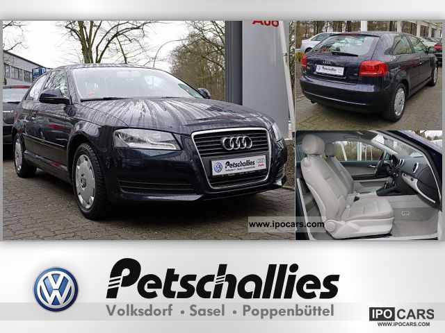 2009 Audi  1.6 S-tronic A3 Attraction Limousine Used vehicle photo