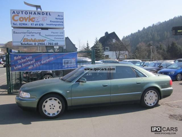 2001 Audi  A8 6.0 quattro long NAVI / LEATHER / Vollaustattung Limousine Used vehicle photo