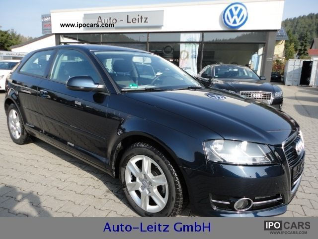 2010 Audi  A3 1.2 TFSI Attraction climate control SHZ PDC BT Limousine Used vehicle photo