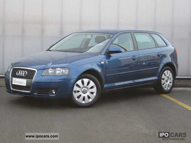 2006 Audi  A3 2 ª serie SPB. 2.0 16V TDI Attraction Limousine Used vehicle photo