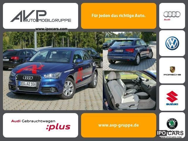 2010 Audi  A1 Attraction 1.6 TDI * Aluminum ** 24% and options! * Limousine Demonstration Vehicle photo