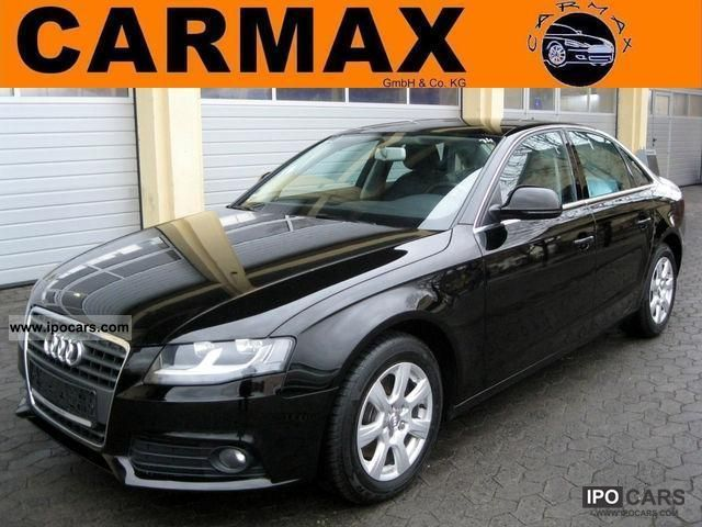 2009 Audi  A4 2.0 TDI, leather, PDC, SH, Bang & Olufsen, EU5 Limousine Used vehicle photo