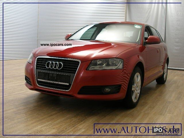 2010 Audi  A3 Sportback 1.6 TDI S TRONIC NAVI ATTRACTION Limousine Used vehicle photo